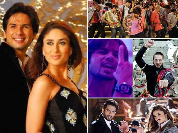 Shahid Kapoor's Top 15 Dance Numbers