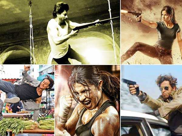 Bollywood stars who perform their own stunts