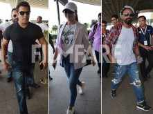 Salman Khan, Jacqueline Fernandez & Remo D'Souza head to Jodhpur for Race 3