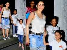 Sweet! Maanayata Dutt's dinner date with her children on Mother's Day