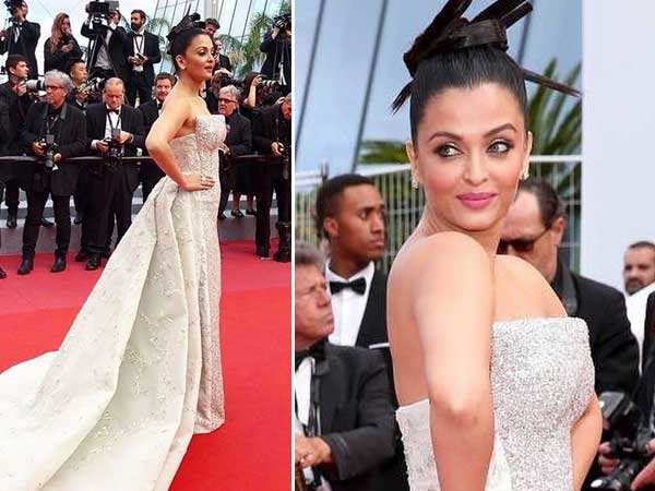 Aishwarya Rai Bachchan shimmers on the red carpet of Cannes 2018