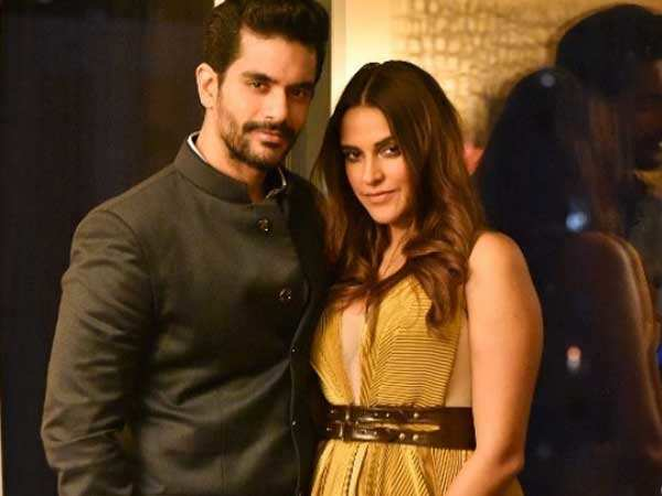 Neha Dhupia and Angad Bedi clarify not being on their honeymoon in the U.S.