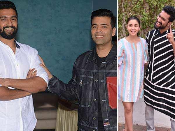Vicky Kaushal talks about Alia Bhatt, Karan Johar and his upcoming films