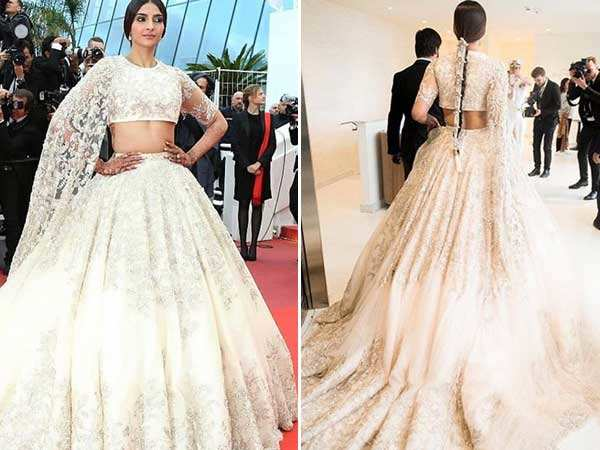 Sonam Kapoor looks phenomenal in Ralph and Russo at Cannes 2018