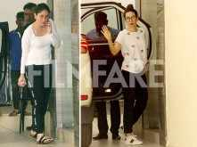Karisma Kapoor, Kareena Kapoor Khan meet mum Babita Kapoor for a cosy lunch
