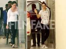 Karisma Kapoor, Kareena Kapoor Khan meet mum Babita Kapoor for a cosy lunch