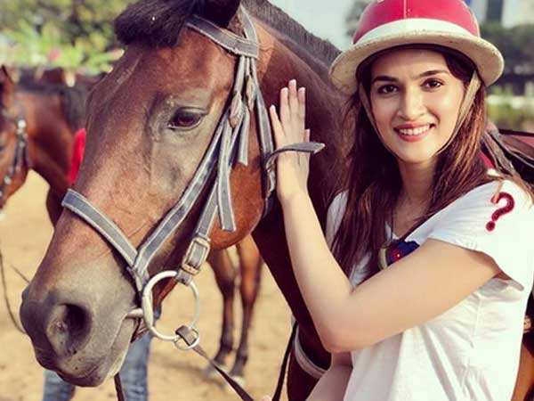 This is how Kriti Sanon is preparing for Panipat