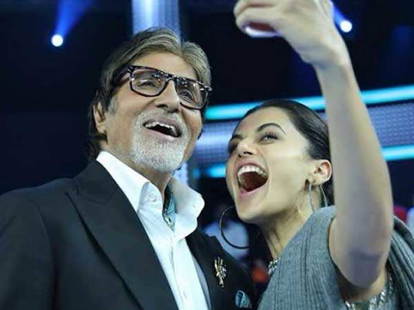 Amitabh Bachchan and Taapsee Pannu to reunite on screen again