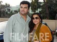 Vidya Balan and Siddharth Roy Kapur head out for a movie date