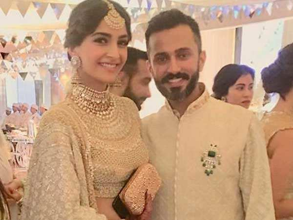 Aww! Anand Ahuja now has Sonam Kapoor's name in his official handle