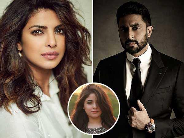 Priyanka Chopra and Abhishek Bachchan to play Zaira Wasim's parents?