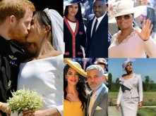 Pictures: Celebrities pour in for the Royal Wedding