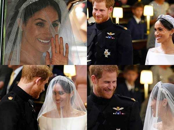 Prince Harry and Meghan Markle leave the guests teary eyed with their love