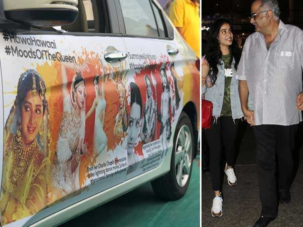 This tribute for Sridevi makes Boney Kapoor & Janhvi Kapoor emotional