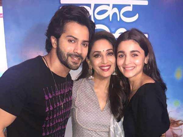 Madhuri Dixit is all praise of Kalank co-stars Alia and Varun