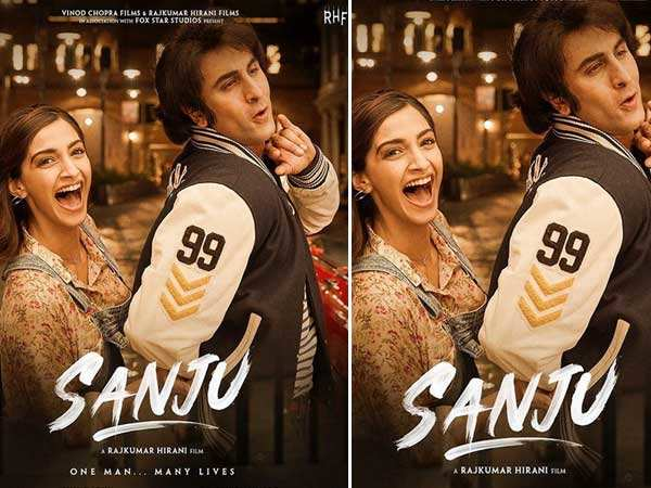 Sanju's new poster with Ranbir Kapoor and Sonam Kapoor is all things fun
