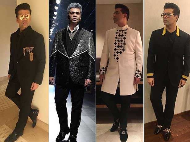 20 times birthday boy Karan Johar proved he's a true fashion icon