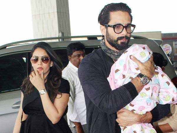 Shahid Kapoor cancels his vacation plans with Mira and Misha Kapoor