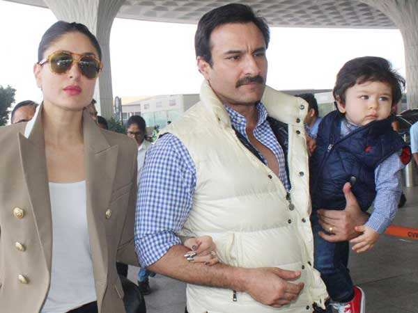 """""""I don't want Taimur to get used to this kind of attention""""- Kareena Kapoor"""