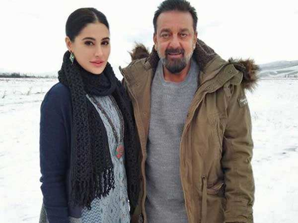 Sanjay Dutt's gives a special treat to his Torbaaz crew in Kyrgyzstan