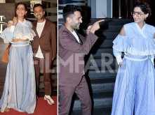 Sweet! Sonam Kapoor & Anand Ahuja watch Veere Di Wedding together