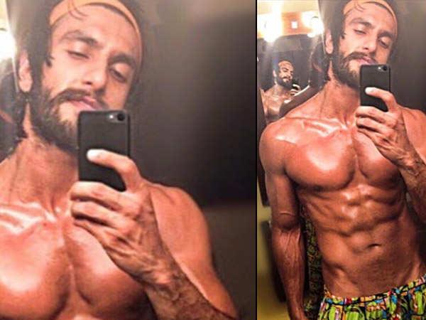 Ranveer Singh's latest shirtless post is too hot to handle