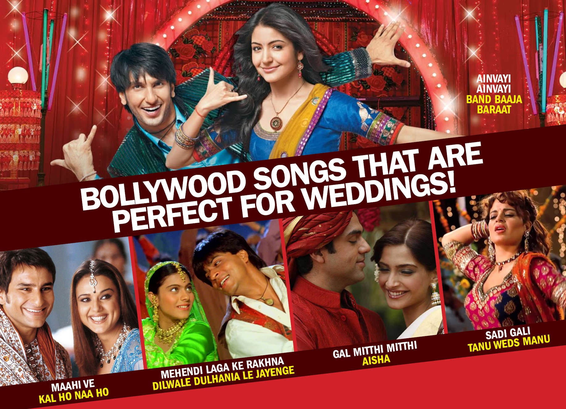 7 Bollywood films which showcased Indian weddings