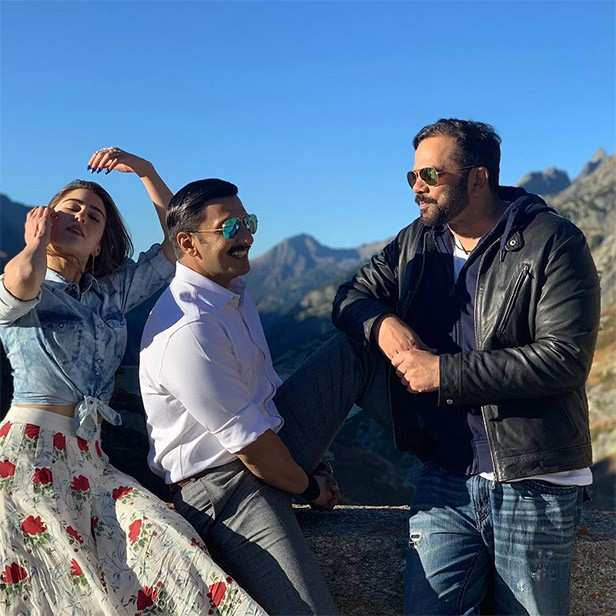 Sara Ali Khan, Ranveer Singh, Simmba
