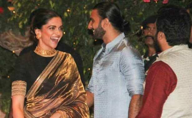 Farah Khan, Ranveer Singh, Deepika Padukone