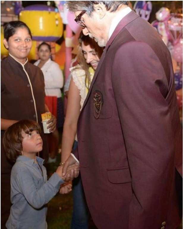 SRK Amitabh