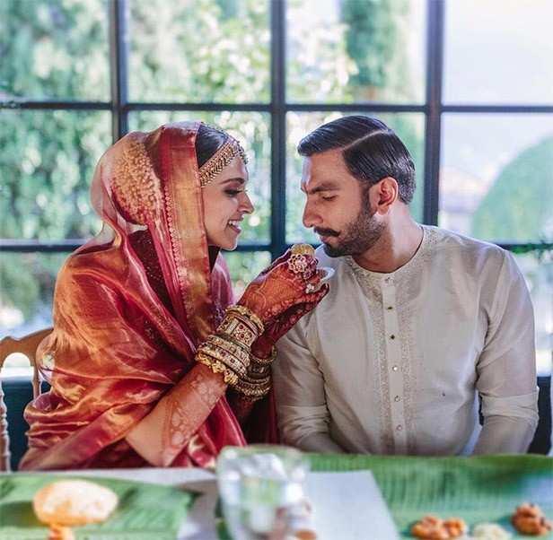 Deepika's wedding saree