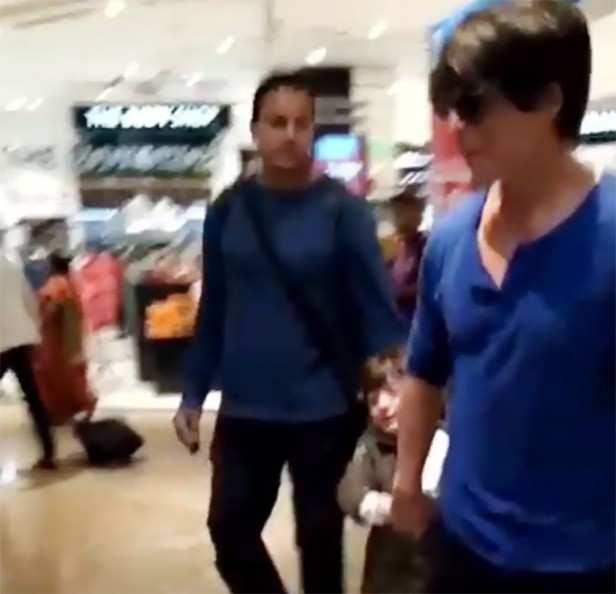 SRK and AbRam