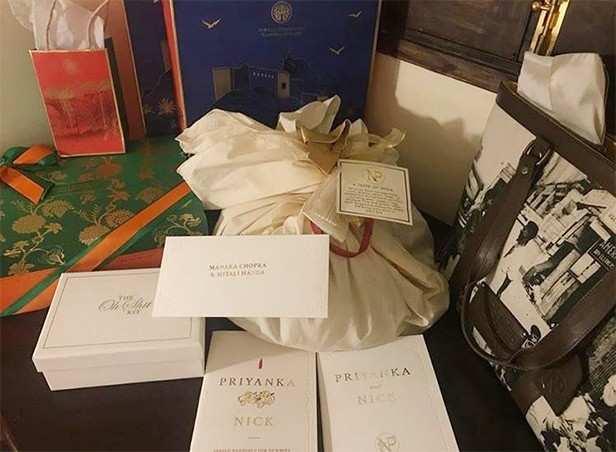 Nick Jonas, Priyanka Chopra, Wedding Goodies, Filmfare