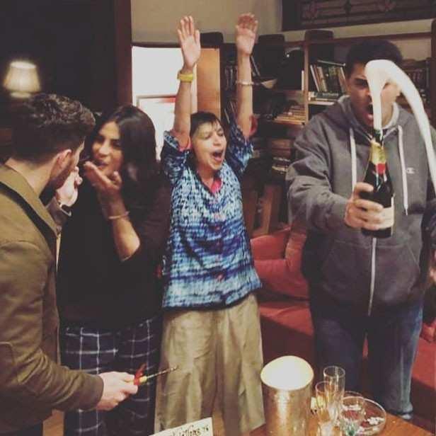 Priyanka Chopra and Nick Jonas treated with a pre-wedding bash