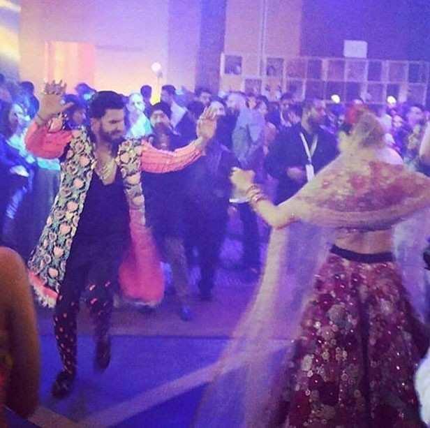 Ranveer Singh. Deepika Padukone