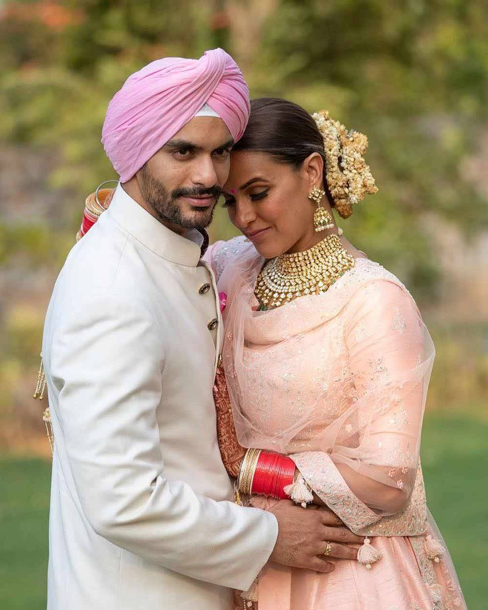 Neha Dhupia and Angad Bedi welcome their first child