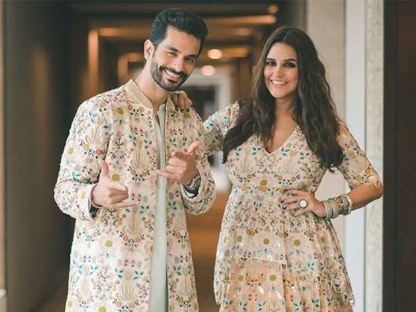 Neha Dhupia and Angad Bedi blessed with a baby girl