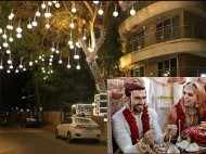 Pictures! Post the grand Italy wedding, Ranveer's Mumbai house all lit up