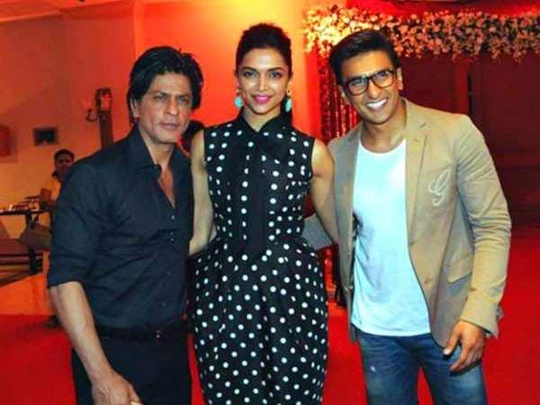 Shah Rukh Khan has a special wish for Deepika Padukone and Ranveer Singh