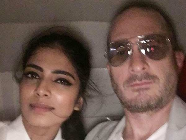 Exclusive! Malavika Mohanan & Darren Aronofsky clicked together in the city