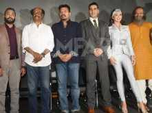 Photos! Rajinikanth and Akshay Kumar unveil the 2.0 Trailer