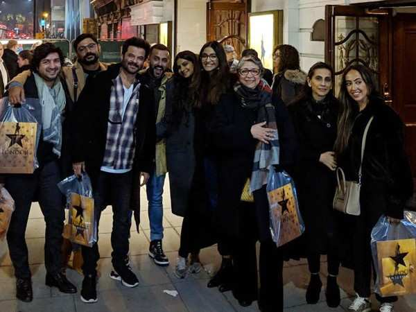 Sonam Kapoor and Anand Ahuja celebrate Diwali in London with Anil Kapoor