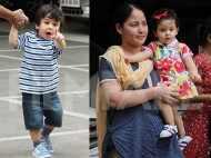 So cute! Taimur Ali Khan and Inaaya Naumi Kemmu enjoy a play date together