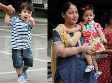 So cute! Taimur Ali Khan and Inaaya Naumi Kemmu enjoy a play date together