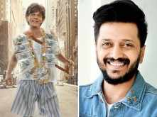 Shah Rukh Khan thanks Riteish Deshmukh for giving Zero a solo release