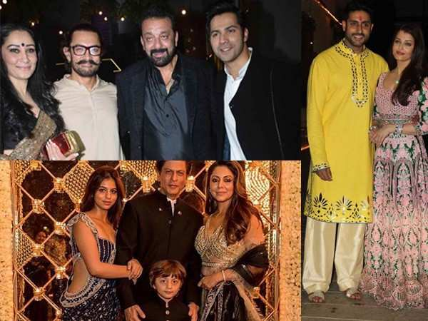 Top Bollywood stars who host the best Diwali parties
