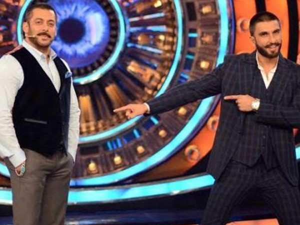 Ranveer Singh to feature on Salman Khan's Bigg Boss finale?