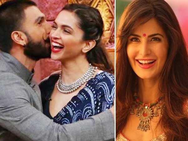 Proof that Katrina Kaif is all happy for Deepika Padukone and Ranveer Singh