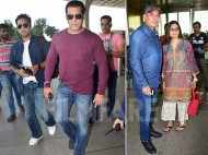 Salman Khan and his family leave for Chandigargh to shoot for Bharat