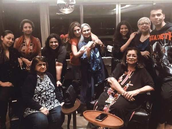 Karan Johar, Shweta Bachchan, Gauri Khan, Zoya Akhtar catch up for dinner